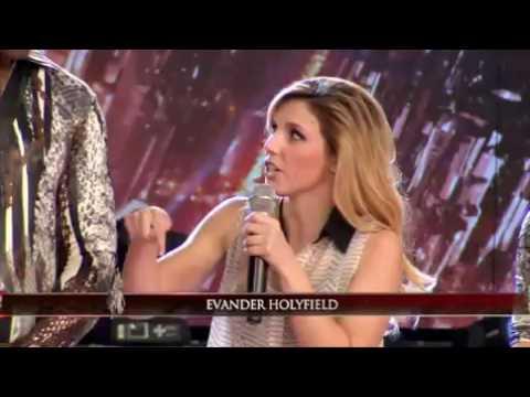 El temible Evander Holyfield, cara a cara con Marcelo Tinelli
