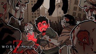 ZOMBİLER çok...çok...! (W/ H2O Delirious, Rilla, & Sincap) | Dünya Savaşı Z