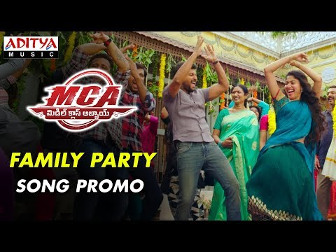 family-party-song-promo-|-mca-movie-songs-|-nani,-sai-pallavi-|-dsp-|-dil-raju,-sriram-venu