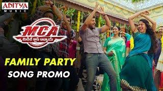 Family Party  Song Promo | MCA Movie Songs | Nani, Sai Pallavi | DSP | Dil Raju, Sriram Venu