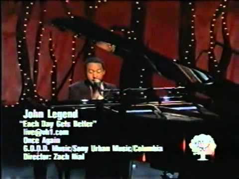 John Legend sings Each Day Gets Better.wmv