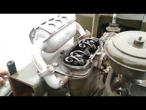 Регулировка клапанов двигателя Уд 25