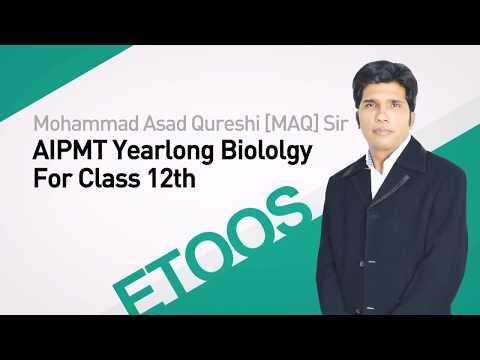 NEET I Biology I Biotechnology and its Applications I M. Asad Qureshi (MAQ)Sir from ETOOSINDIA.COM thumbnail