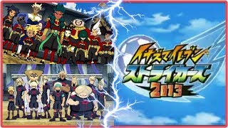 ☠ Inazuma Eleven GO Strikers 2013 ☠  DESTRUCTCHERS  VS ZANARK DOMAIN