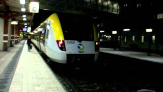 SJ 402 X2000 Göteborg --Stockholm passerar Skövde i full fart!