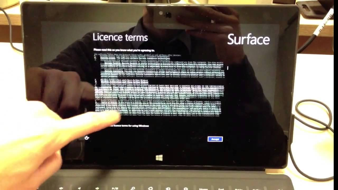 Reset Windows 8 Tablet to Factory setting by SurfaceTabletTips