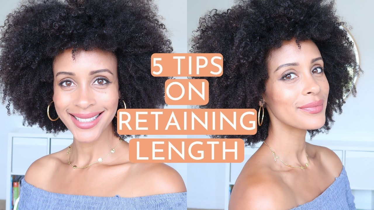 How To Retain Length On SHORT Natural Hair