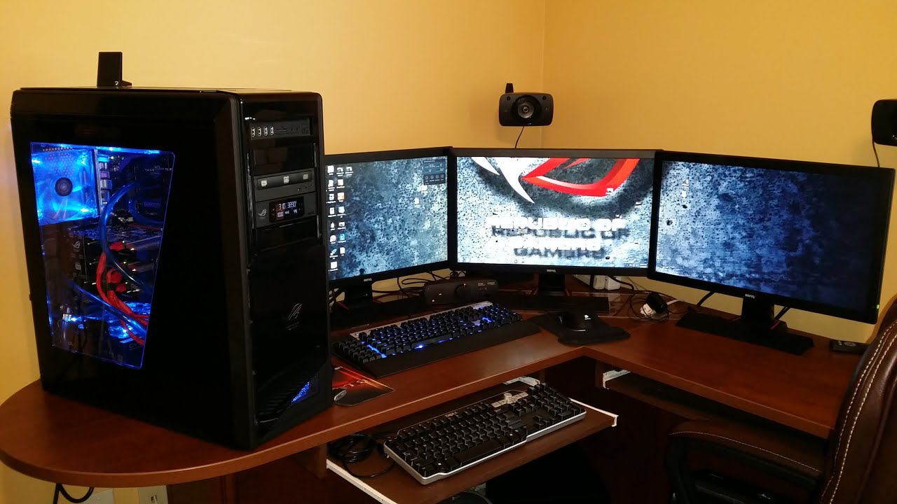 Multiple Monitors The Ultimate Gaming Pc Youtube