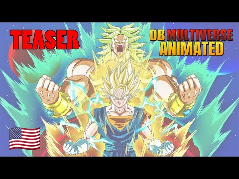 [ENG] Teaser DB Multiverse Animated (30/09/2020)