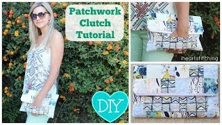 Simple Patchwork Clutch Tutorial