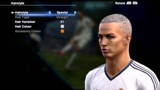 Cristiano Ronaldo New Hairstyle Special #2 PES 2013 █▬█D 720p