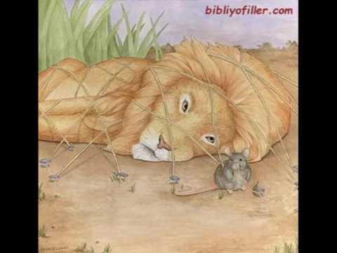 Aslan ile Fare / Ezop Masalları