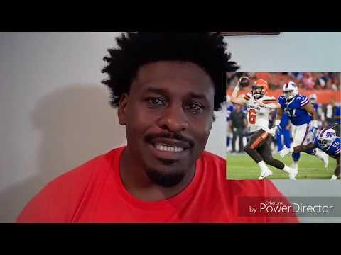 Recap Browns vs Bills Preseason Game 2....The Return of Josh Gordon ... e16abc1ee
