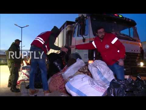 Syria: Militants and civilians evacuated from last militant-held district in Homs