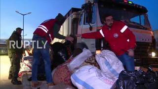 Syria  Militants and civilians evacuated from last militant held district in Homs