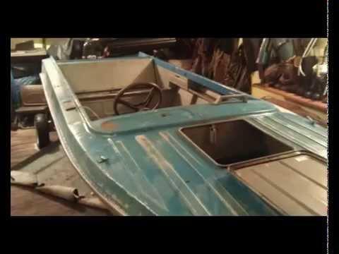 подготовка дюралевой лодки к покраске
