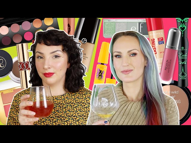 Save or Splurge? If We Had To Replace All Our Makeup | WINE TIME