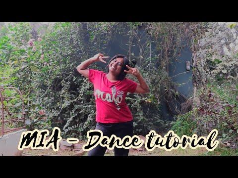 Mia - Easy Dance Tutorial || Easy Dance Steps On Mia ||
