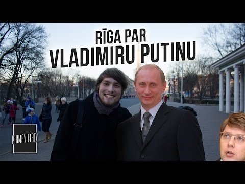 Rīga par Vladimiru Putinu