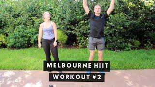 Melbourne HIIT Workout #2 | Fitness on the Road | highlands2hammocks travel vlog