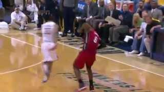 LeBron James Flop vs Raptors |Game 3|East Finals| 2016 NBA Playoffs