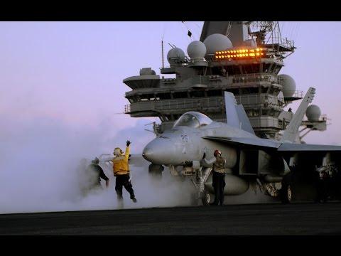 Russian warplanes approach USS Ronald Reagan as Fighter Jets Scramble to Intercept