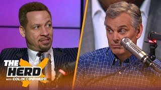 "Chris Broussard joins Colin Cowherd to discuss a variety of NBA topics. He reacts to Magic Johnson's comments about what led to his departure with the Los Angeles Lakers, also explains how the Golden State Warriors' recent success 'has to be tough' on Kevin Durant which could ensure his exit.  #TheHerd #NBA #MagicJohnson #Lakers #KevinDurant #Warriors  SUBSCRIBE to get all the latest content from The Herd: http://foxs.pt/SubscribeTHEHERD    ►Watch the latest content from The Herd: http://foxs.pt/LatestOnTheHerd  ►Watch our favorite content on ""Best of The Herd"": http://foxs.pt/BestOnTheHerd   ▶First Things First: Cris Carter and Nick Wright's YouTube channel: http://foxs.pt/SubscribeFIRSTTHINGSFIRST ►UNDISPUTED's YouTube channel: http://foxs.pt/SubscribeUNDISPUTED  ►Speak for Yourself's YouTube channel: http://foxs.pt/SubscribeSPEAKFORYOURSELF   See more from THE HERD: http://foxs.pt/THEHERDFoxSports  Like THE HERD on Facebook: http://foxs.pt/THEHERDFacebook  Follow THE HERD on Twitter: http://foxs.pt/THEHERDTwitter  Follow THE HERD on Instagram: http://foxs.pt/THEHERDInstagram   Follow Colin Cowherd on Twitter: http://foxs.pt/ColinCowherdTwitter    About The Herd with Colin Cowherd: The Herd with Colin Cowherd is a three-hour sports television and radio show on FS1 and iHeartRadio. Every day, Colin will give you his authentic, unfiltered opinion on the day's biggest sports topics.  Chris Broussard reacts to Magic's remarks about Pelinka & Lakers, talks KD's future 