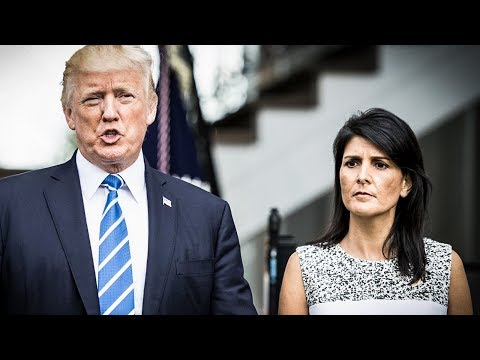 Is Nikki Haley Plotting A Coup Against Trump In 2020?