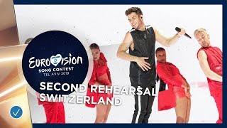 Switzerland 🇨🇭 - Luca Hänni - She Got Me - Exclusive Rehearsal Clip - Eurovision 2019