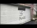 HATE VANDALISM SHOWS UP ON HOME… TOWN STUNNED WHEN SHOCK SUSPECT REVEALED