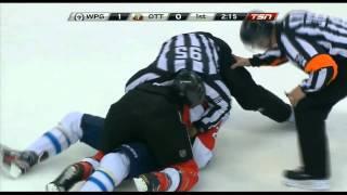 Evander Kane/Erik Karlsson full incident + Neil fights Kane
