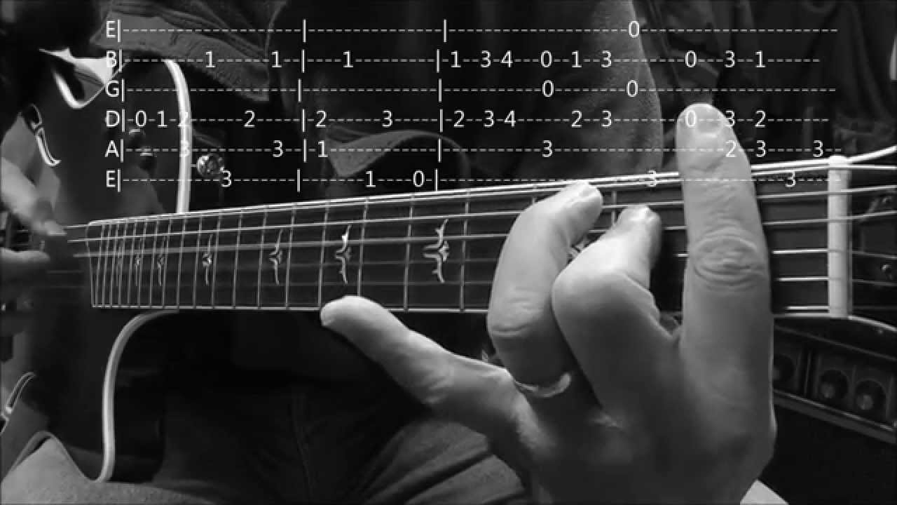 How to Play 'The Entertainer' in key of C with Tabs - Part I