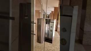 Fechadura  eletroima  porta de vidro abre para fora