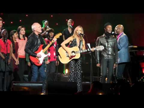 Sheryl Crow, Peter Frampton, Aloe Blacc at John Lennon's 75th Birthday Concert, MSG, NYC