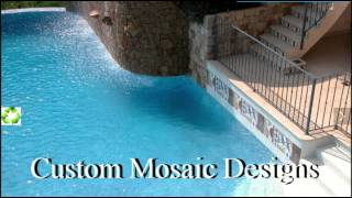 Glass Mosaic Pool Tiles 1 (800) 609-1497