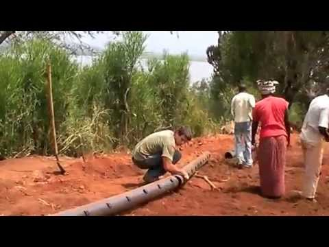 Gashora Girls Academy Irrigation Installation