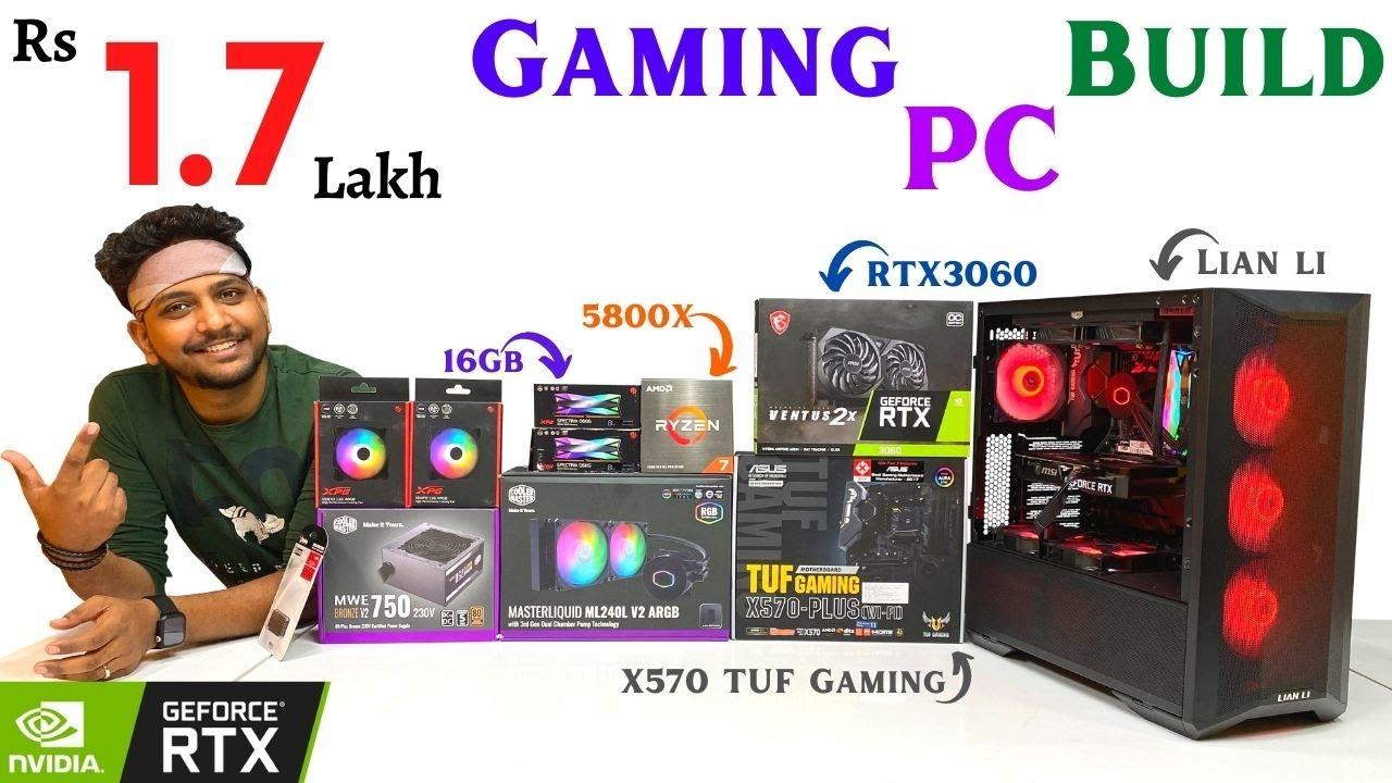 Rs 1.7 Lkah Gaming PC Build | RTX 3060 | Ryzen 7 | Mallikarjun (Hyderabad)| 9532777615 | Mr Pc Wale
