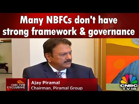 Many NBFCs don't have strong framework & governance, says Ajay Piramal   Halftime Report