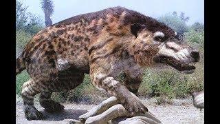 Битвы доисторических животных Мегатерий, Сумчатый Лев, Индрикотерий , Мамонт