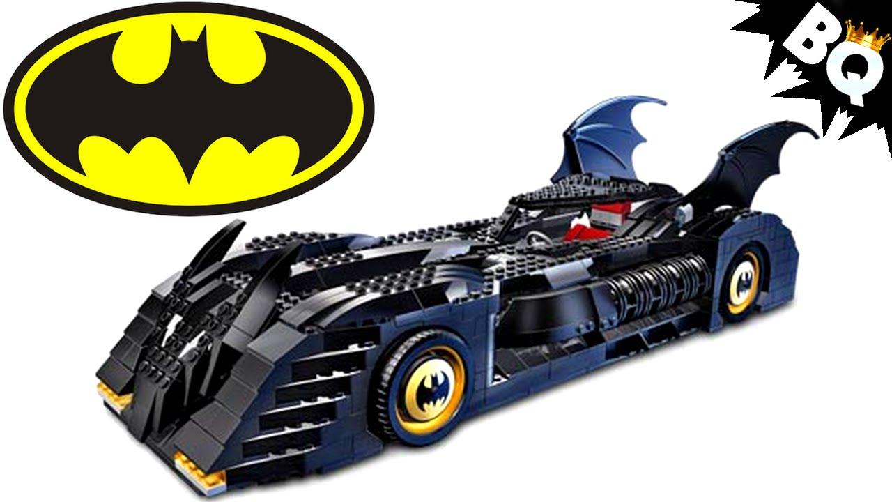 LEGO Batman UCS Batmobile 7784 Build & Review - BrickQueen - YouTube