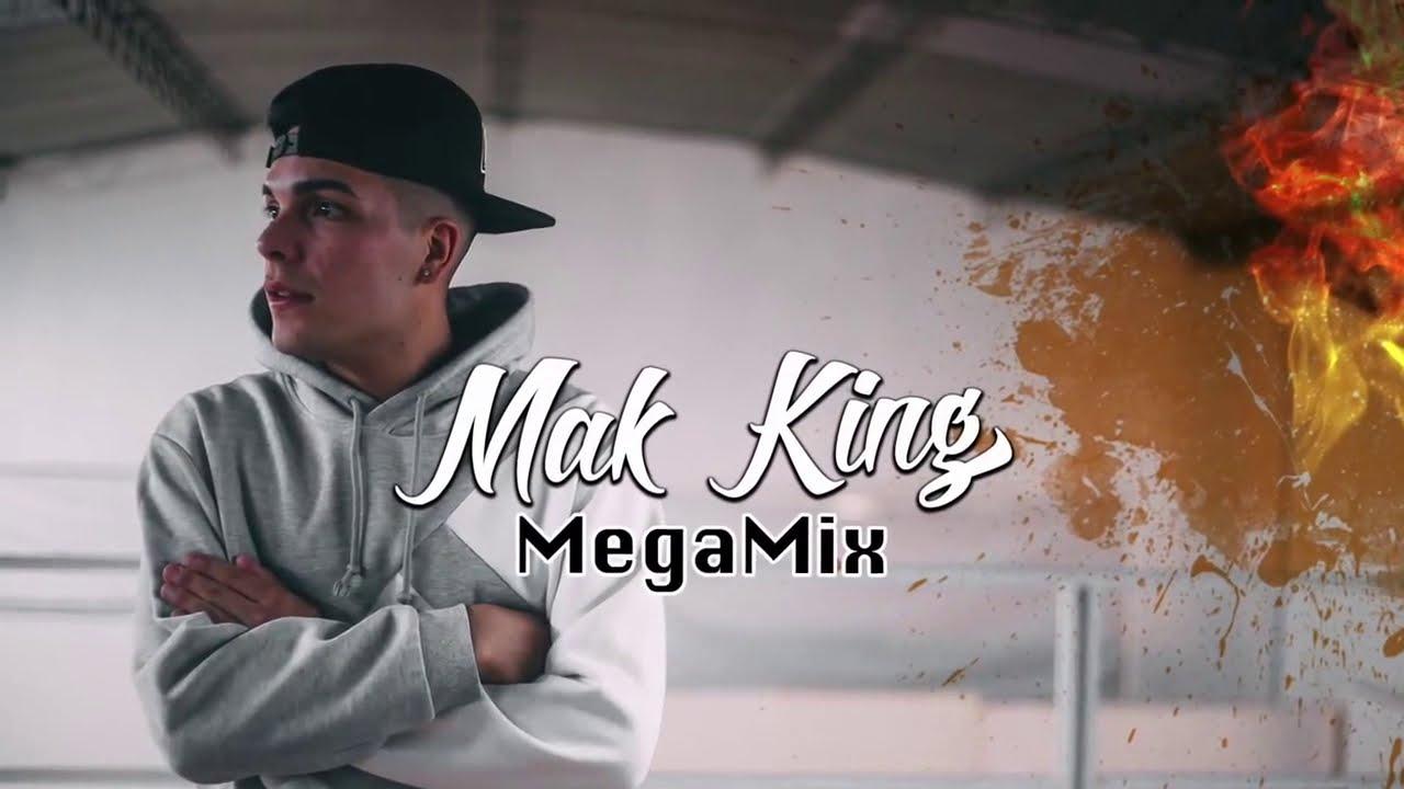 MAK KING 👑 MEJORES TEMAS ENGANCHADO MIX ✘ HAMSTER RECORDS Version Cumbia 2019