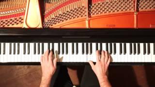 Vivaldi - Largo Concerto in D, RV 93 Piano Solo HARMONIC PEDAL