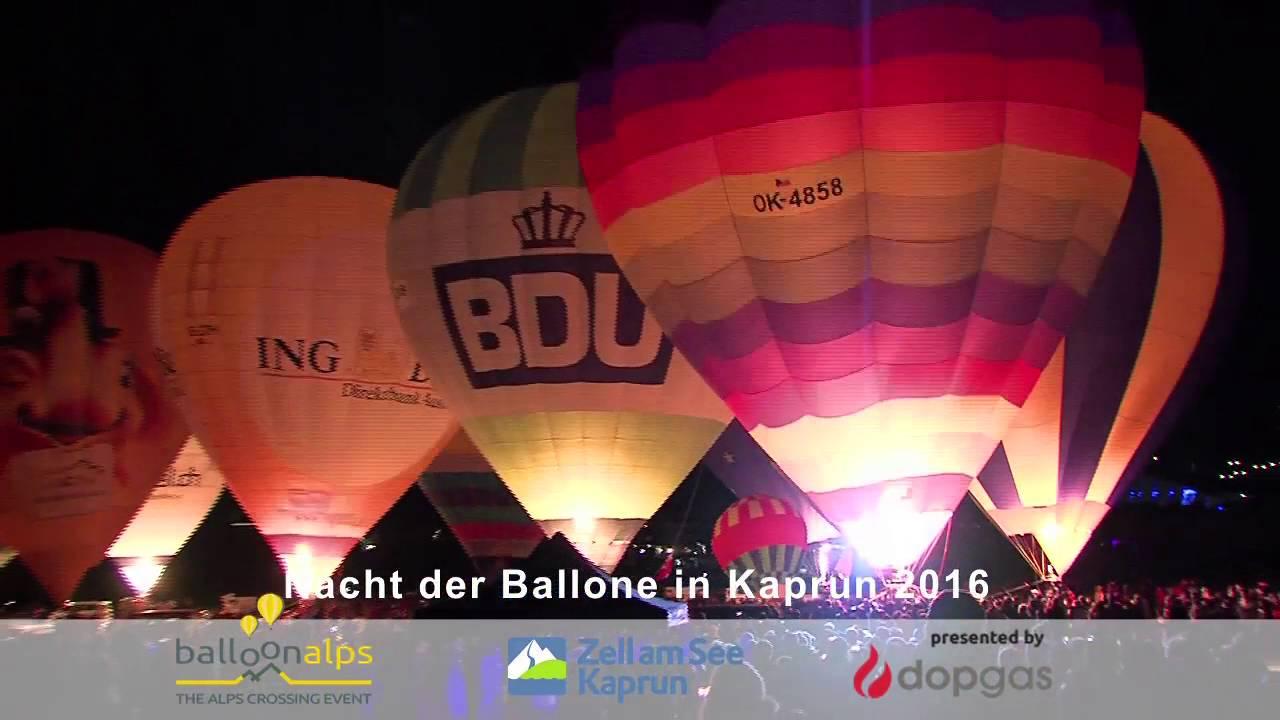 Nacht der Ballone Kaprun 2016