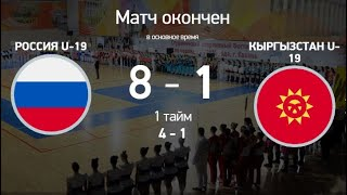 Обзор Футзал 1_2 финала Россия Кыргызстан 1_8