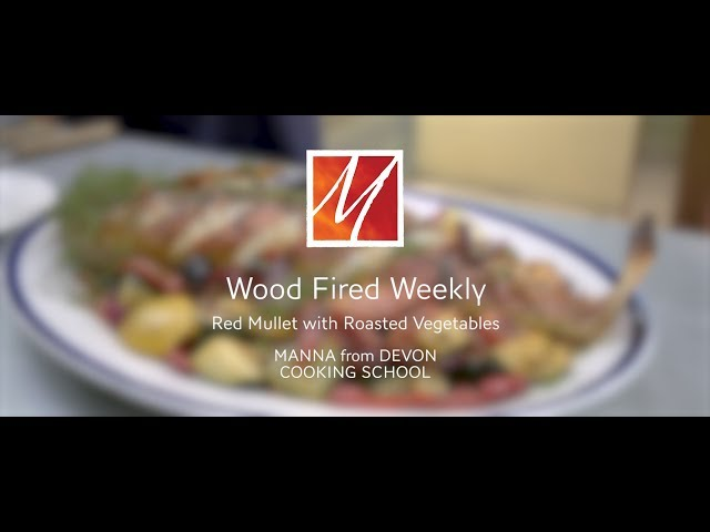 Manna from Devon's Woodfired Red Mullet with Mediterranean Vegetables