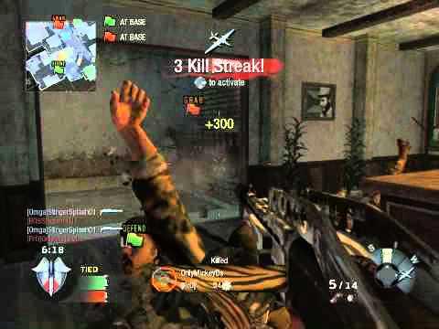 StingerSplash01 - Black Ops Game Clip - Shotgun Spree