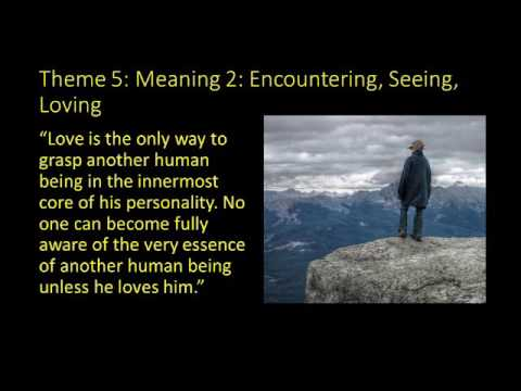 Meaning of Life: Frankl's Man's Search for Meaning