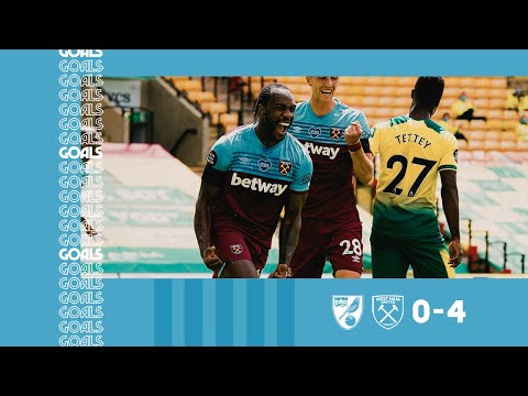 Norwich West Ham Goals And Highlights