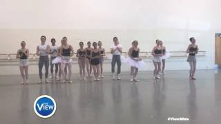 Miami City Ballet School Rocks The #ViewSlide | The View