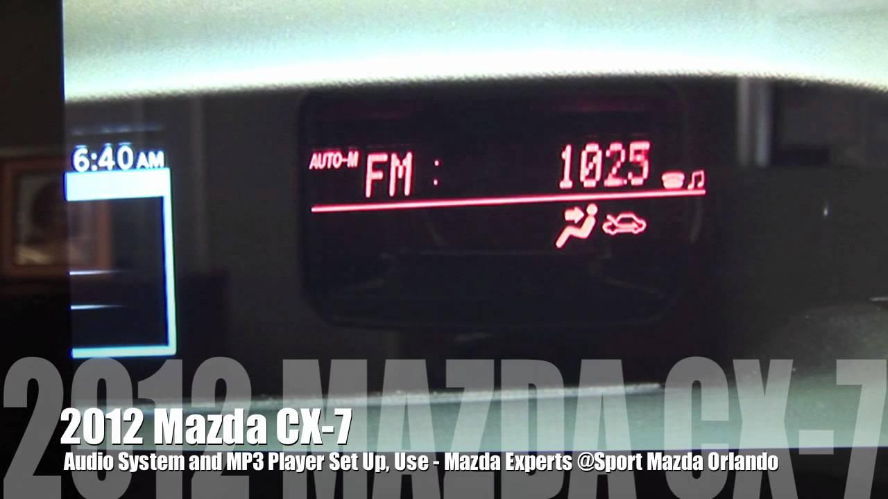 mazda cx-7 подключаем smart key-less
